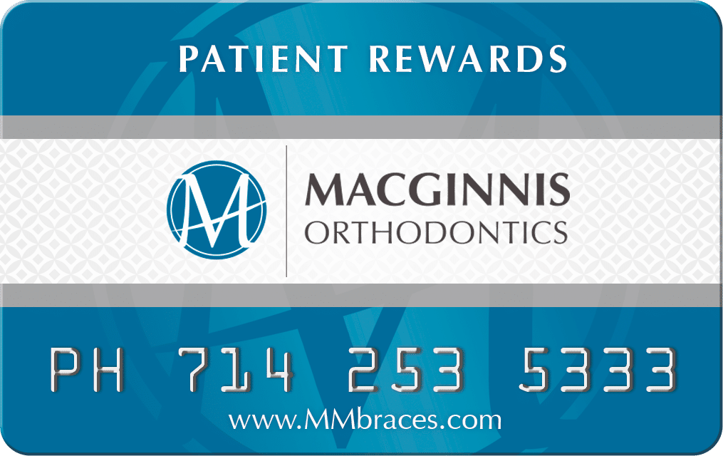 Patient Rewards Macginnis Orthodontics Fullerton CA